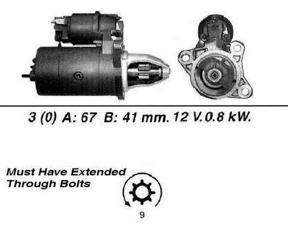 Rover 25 Premium Starter Motor