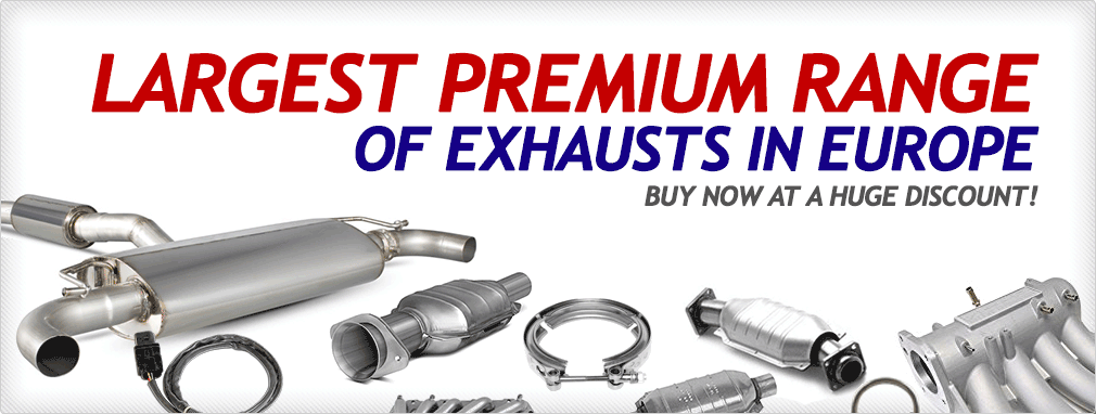 Largest Premium Range Of Exhausts In Europe