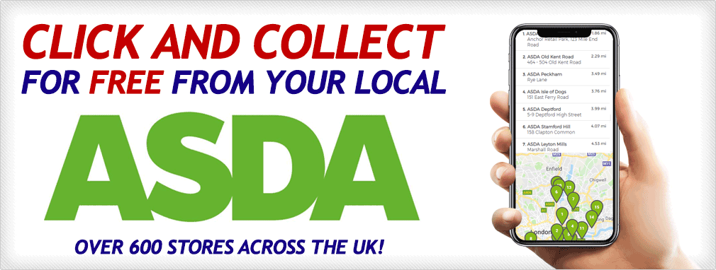 Click and Collect for FREE From Your Local ASDA