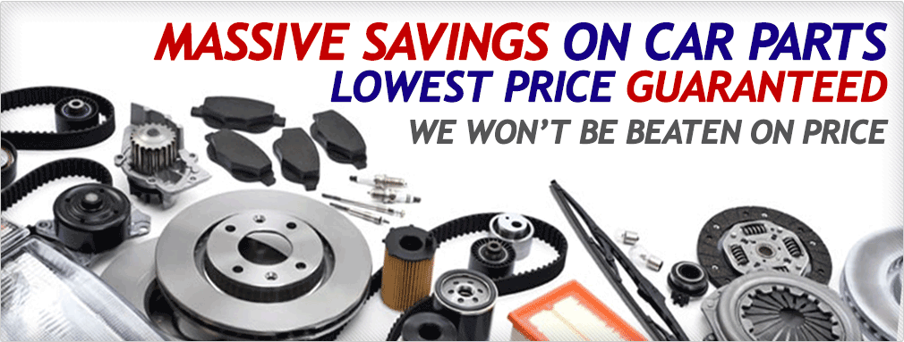 Massive Savings On Car Parts - Lowest Price Guaranteed