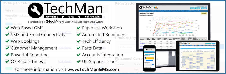 TechMan Garage Management System